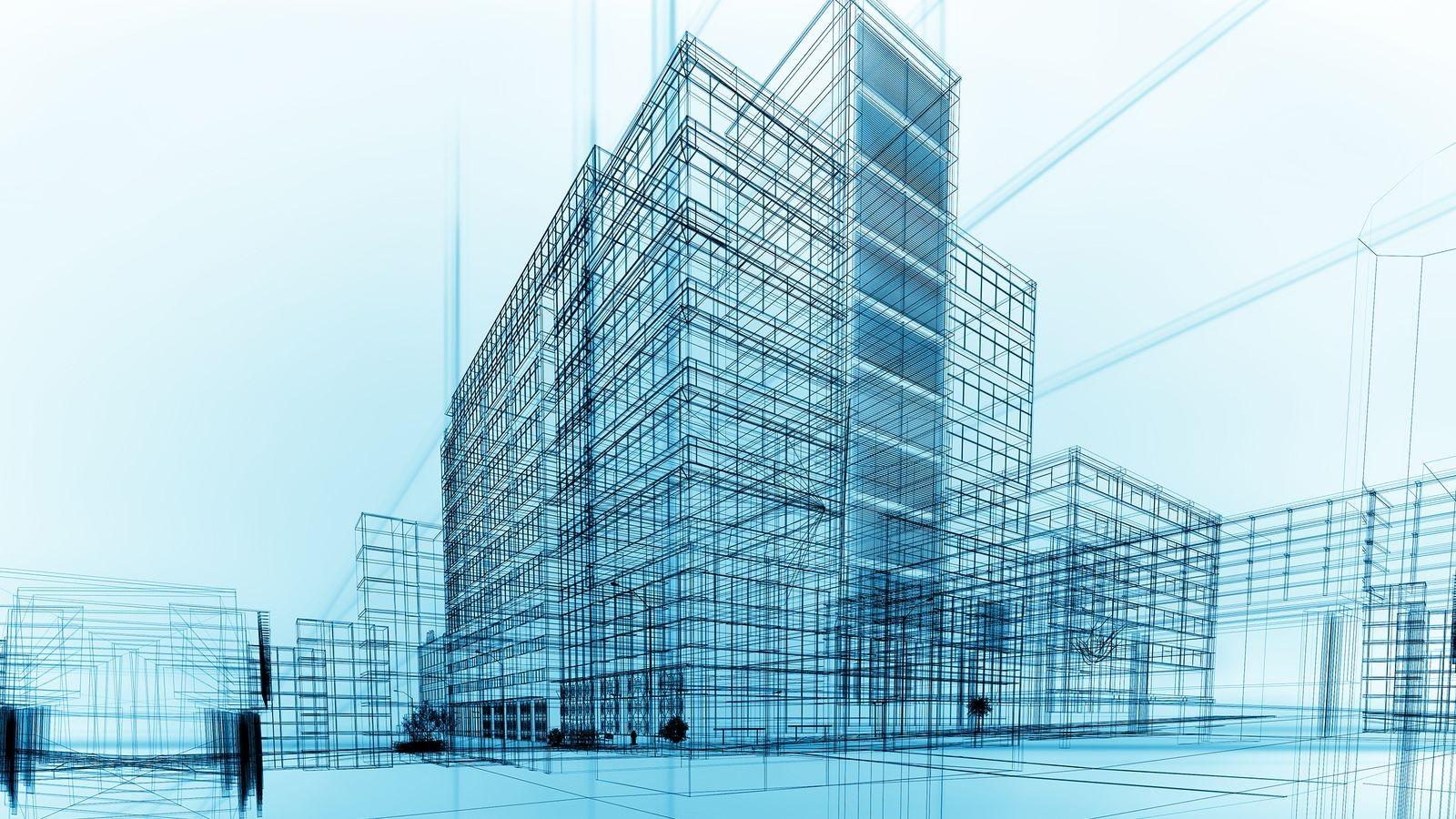 Fond D 39 Cran Dessin Paysage Urbain Architecture Gratte Ciel La Tour Ing Nierie Ligne