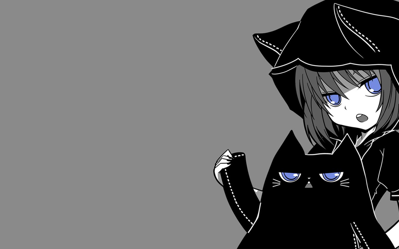 Masaüstü çizim Illüstrasyon Tek Renkli Basit Arka Plan Anime