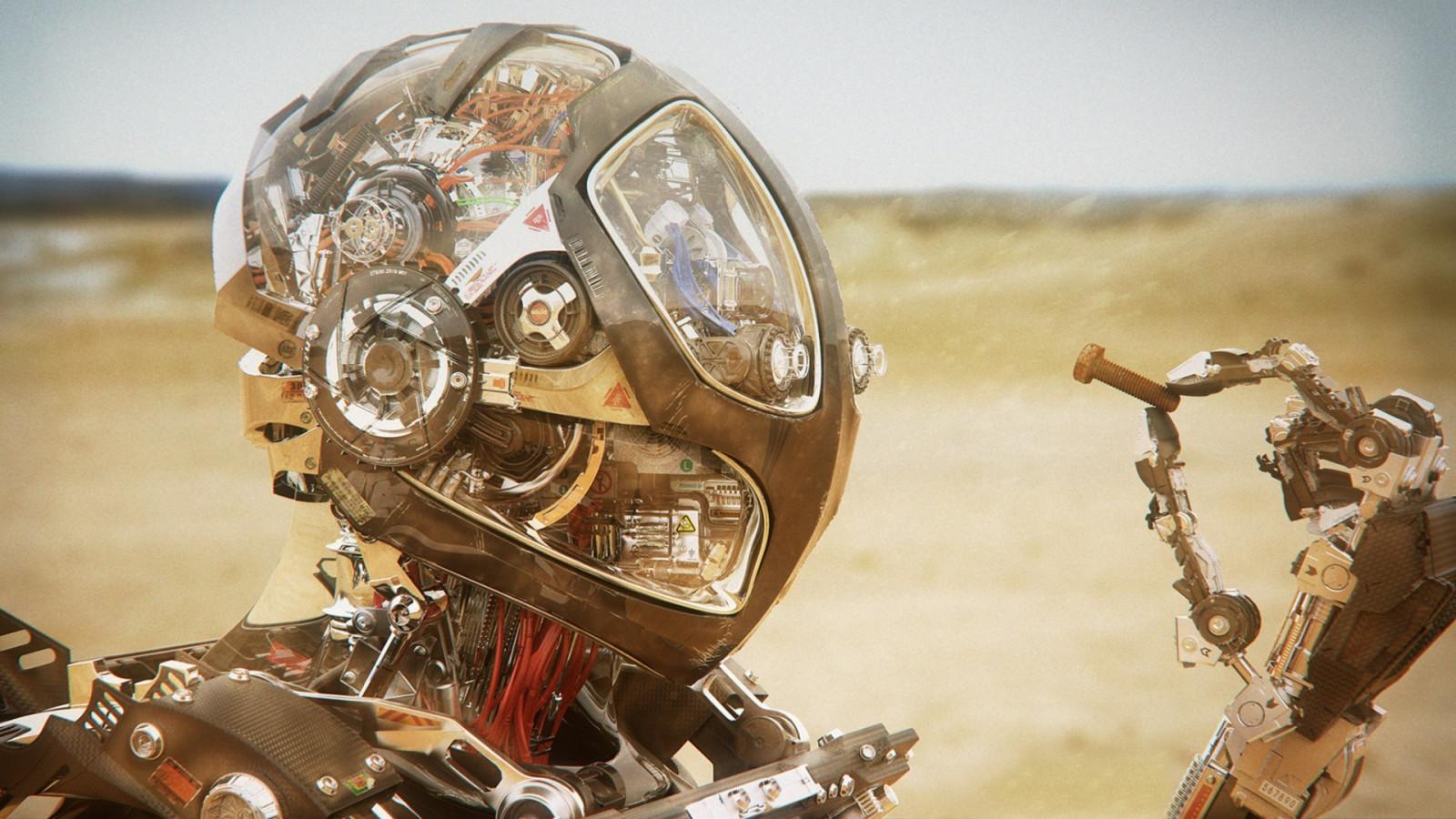 робот на мотоцикле картинки чтобы человек фото