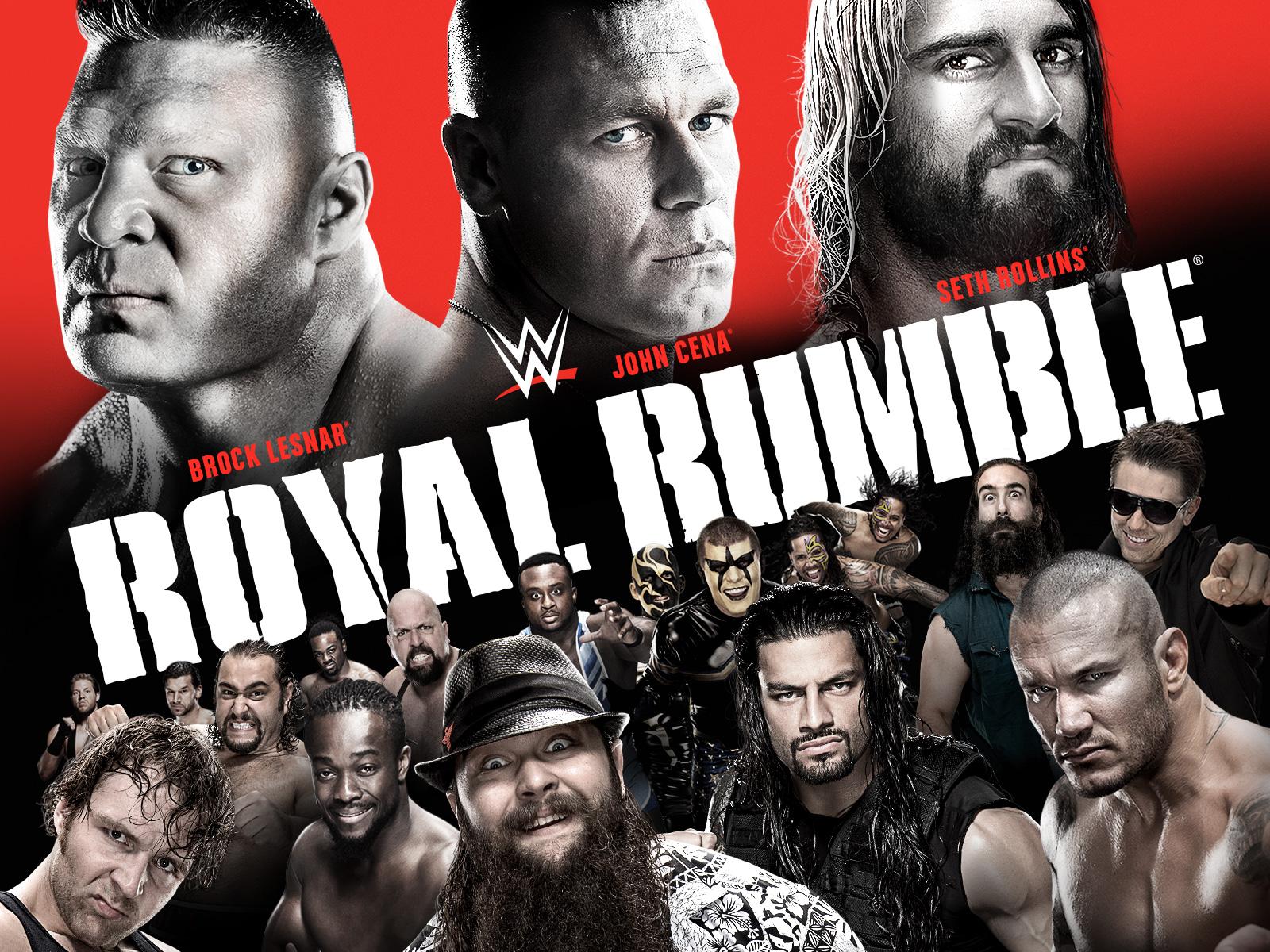 WWE 2015 John Cena Seth Rollins