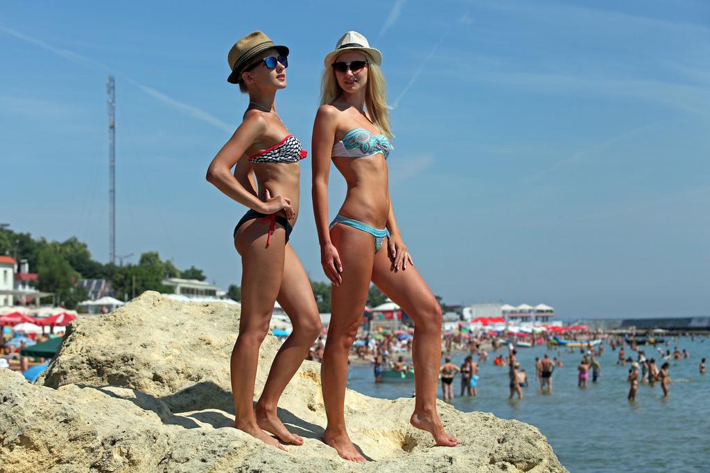 Beach ukraine girls images 1