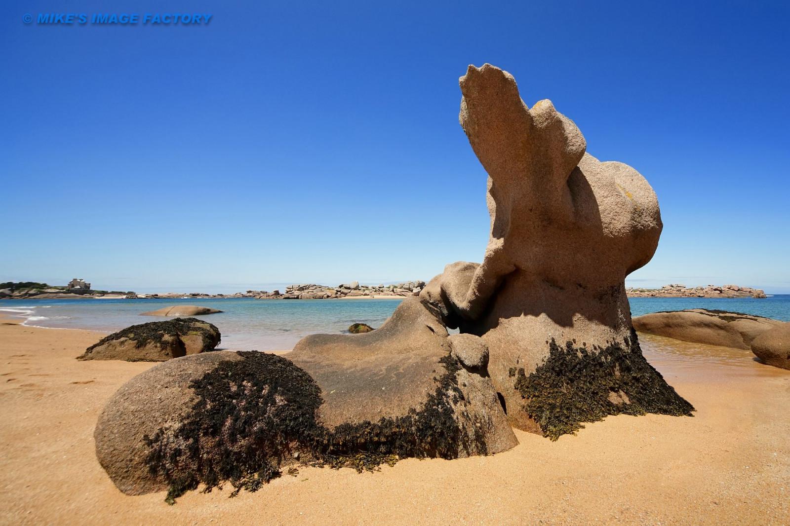 Fondos de pantalla : paisaje, mar, rock, apuntalar, arena, cielo ...