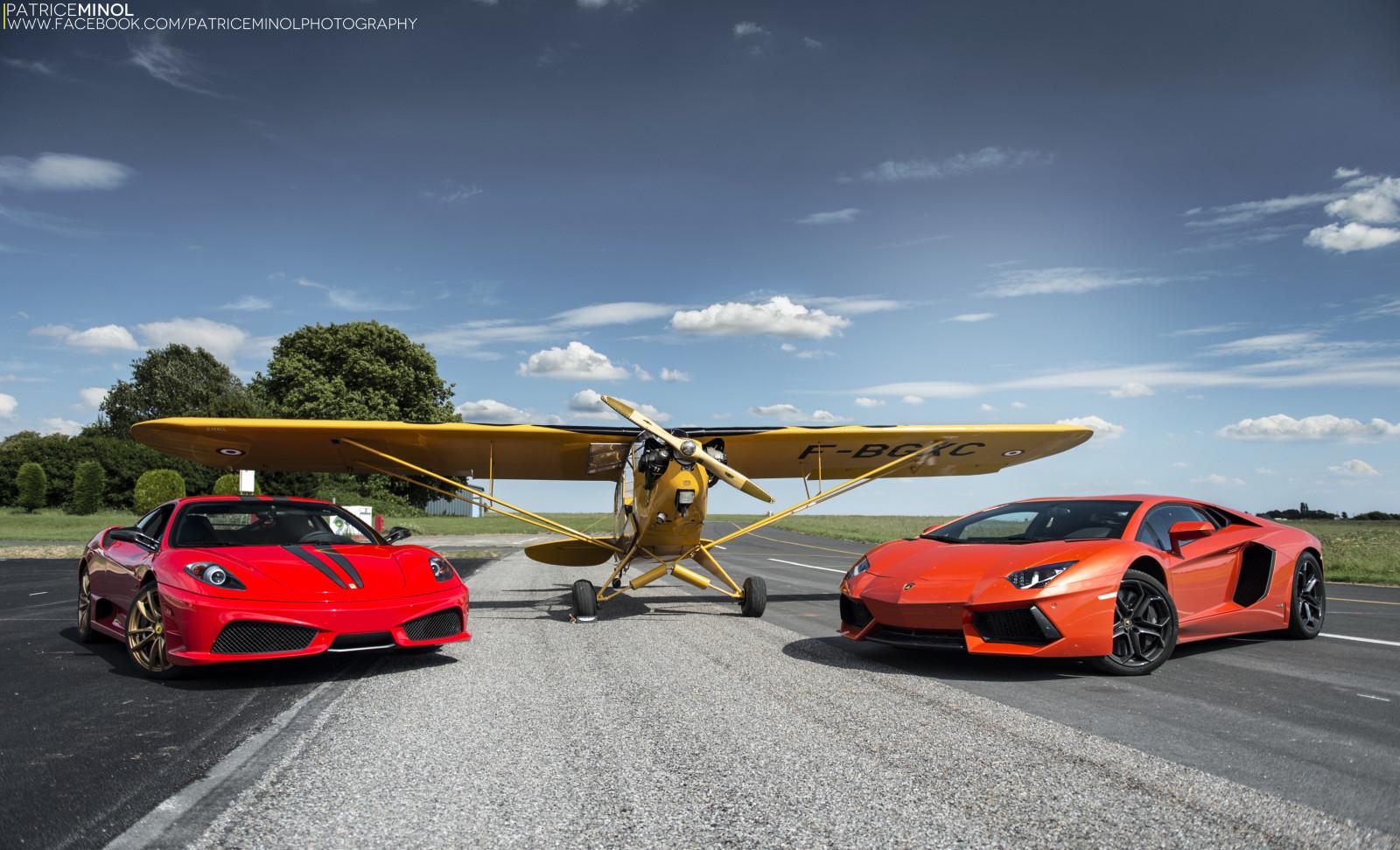 Wallpaper : Road, Supercars, Yellow, Lamborghini Aventador, France, Lamborghini  Gallardo, Sports Car, Ferrari, Asphalt, Coupe, F430, Performance Car, Engine  ...