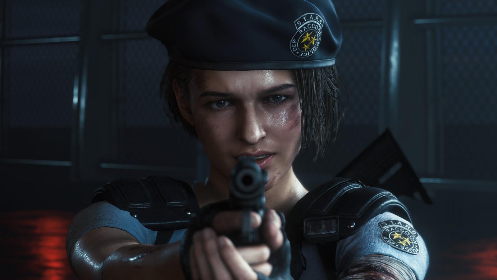 Wallpaper Resident Evil 3 Resident Evil Jill Valentine Video
