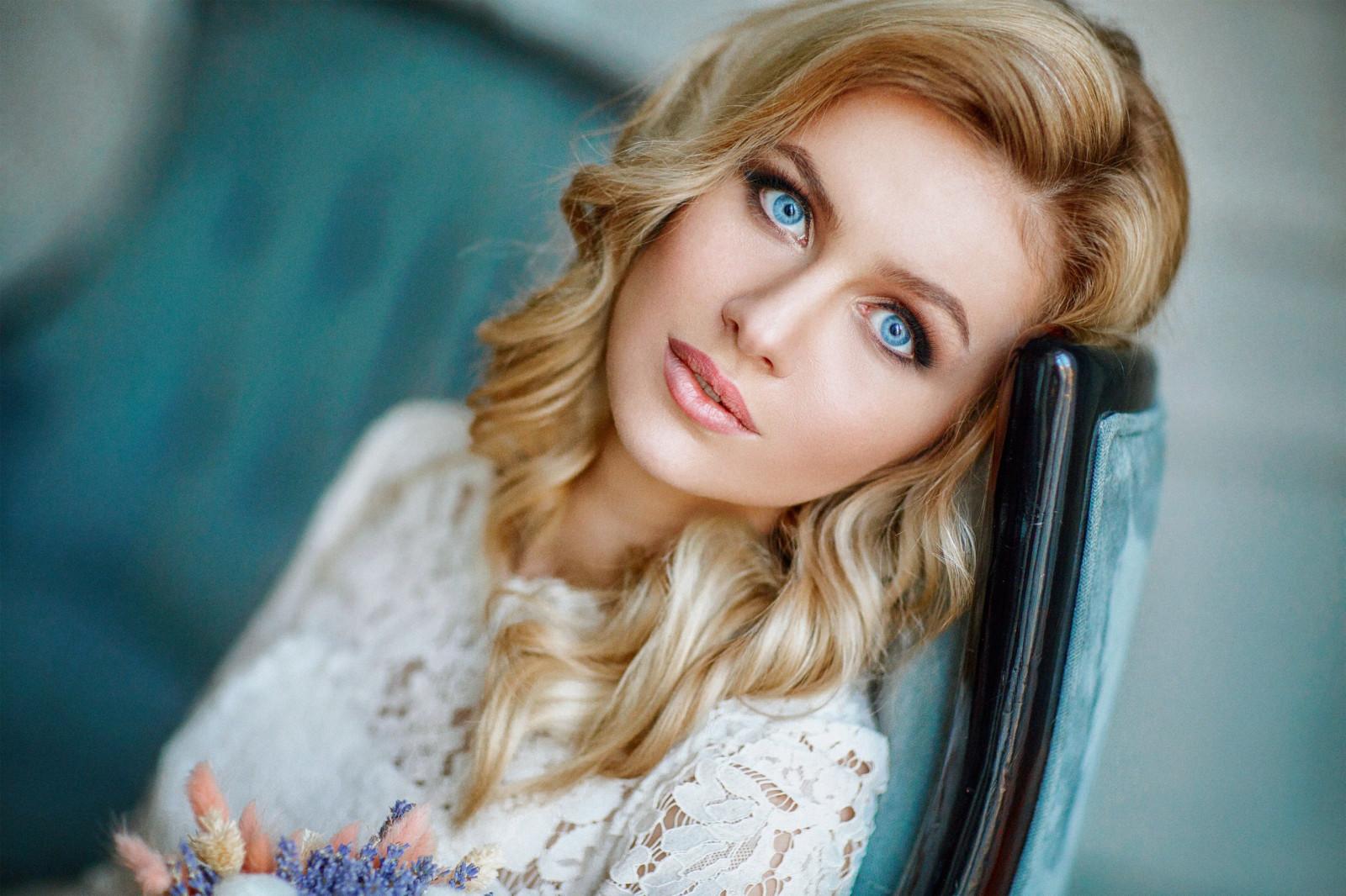 Frauen Blond
