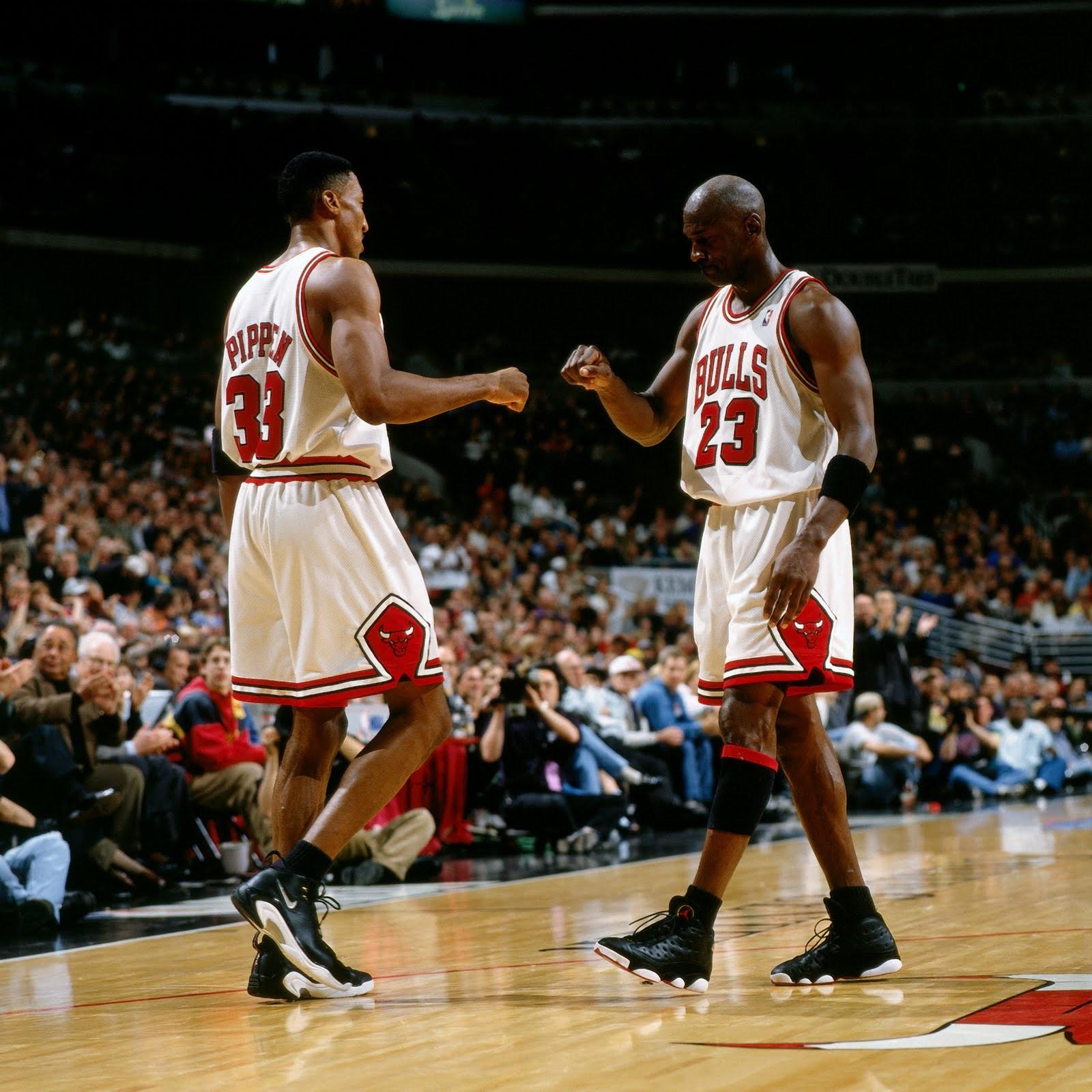1600x1600 Px Basketball Black People Chicago Bulls Legend Men Michael Jordan NBA Scottie Pippen Sports