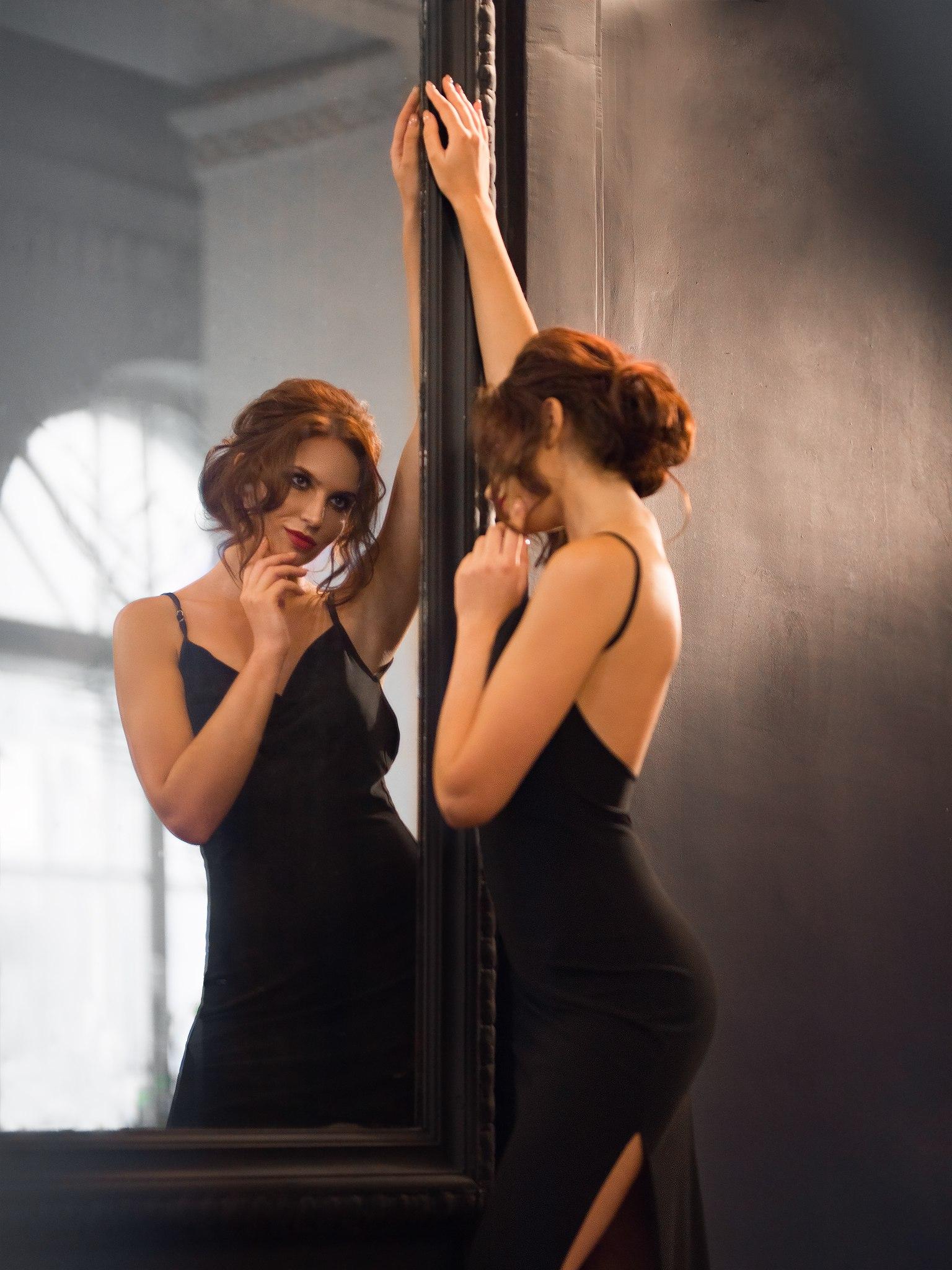 как фотографировать отражение в зеркале моих знакомых