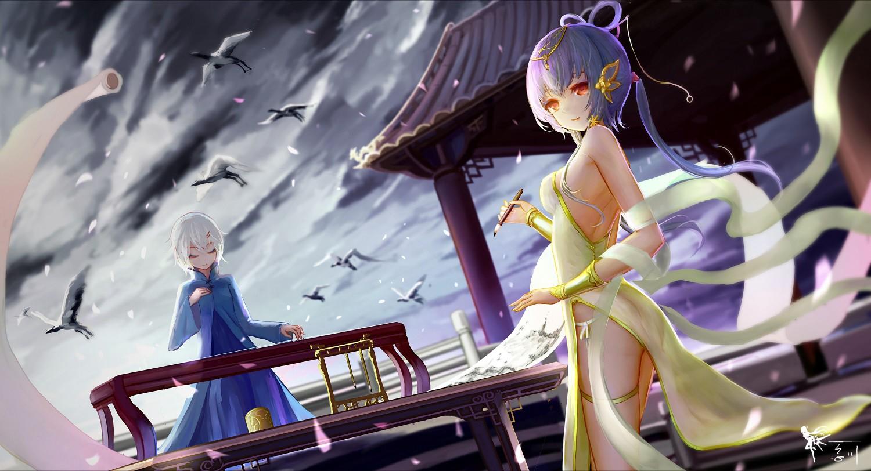 Anime Vocaloid Thần thoại Vocaloid Trung Quốc Ảnh chụp màn hình Hình nền  máy tính Nhà