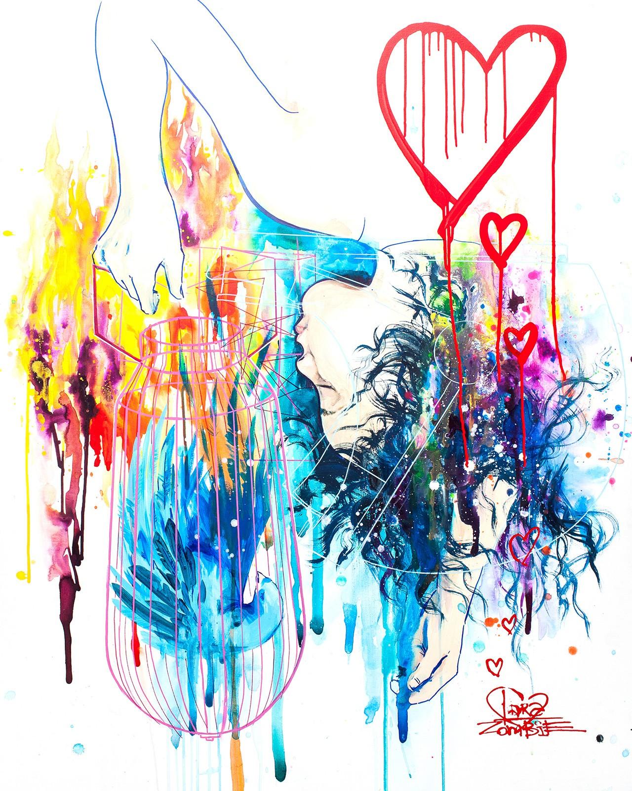 Fond d 39 cran color la peinture illustration dessin - Dessin colore ...