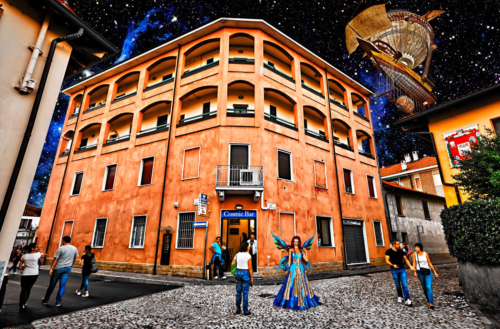 Wallpaper Street City Houses Italy Strada Italia