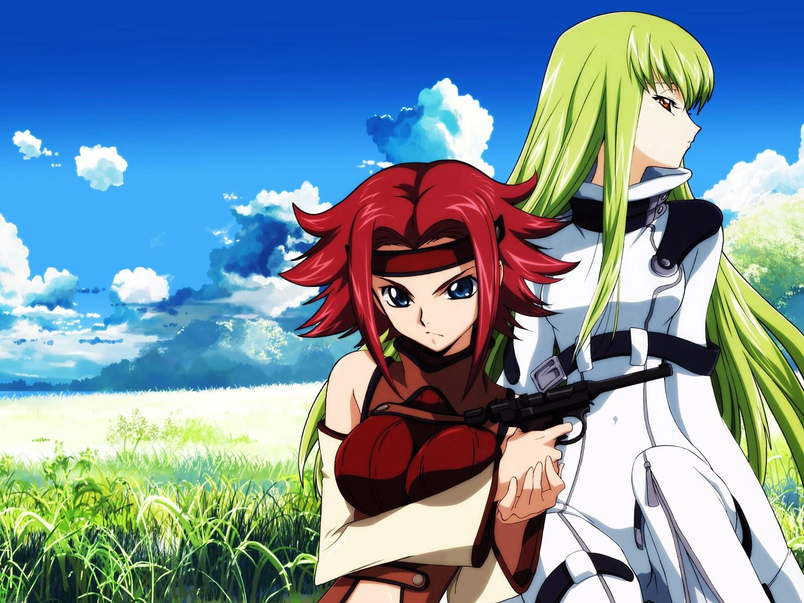 Fond D Ecran Illustration Anime Code Geass C C Kallen