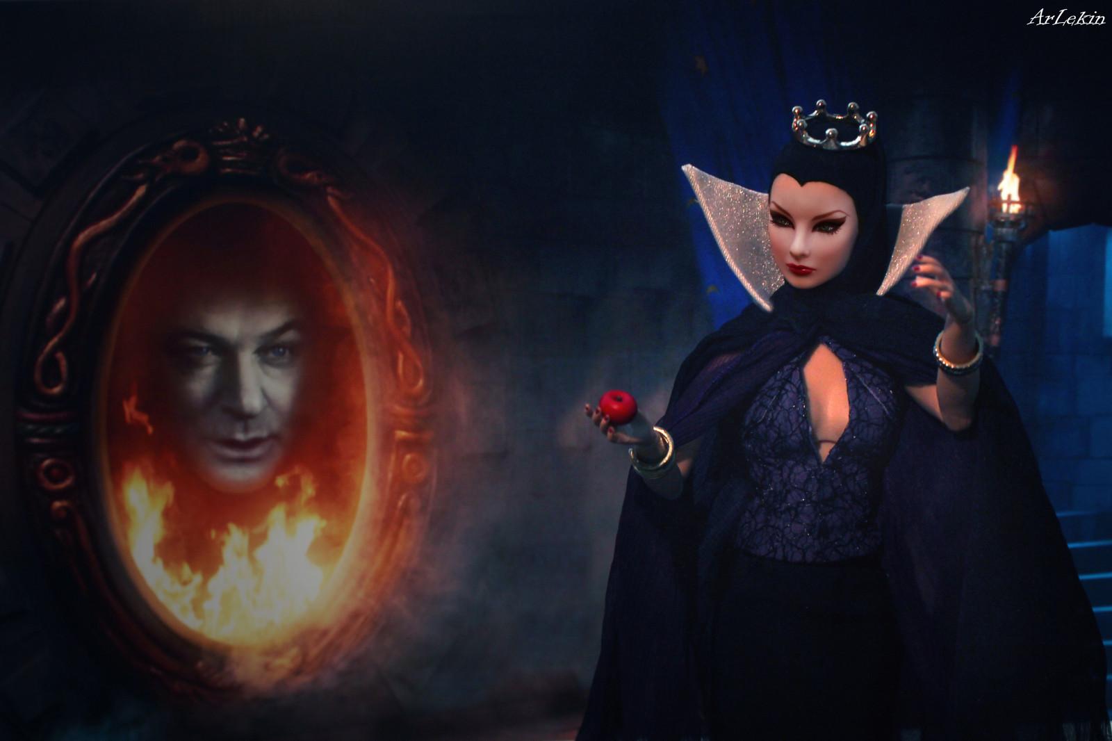 Wallpaper Halloween Cartoon Castle Mirror Witch Crown Disney Villain Midnight Apple Darkness Fairytale Screenshot Integrity Computer Wallpaper Special Effects Fashiondoll Fashionroyalty Nuface Torch Phenomenon Giselle Jasonwu