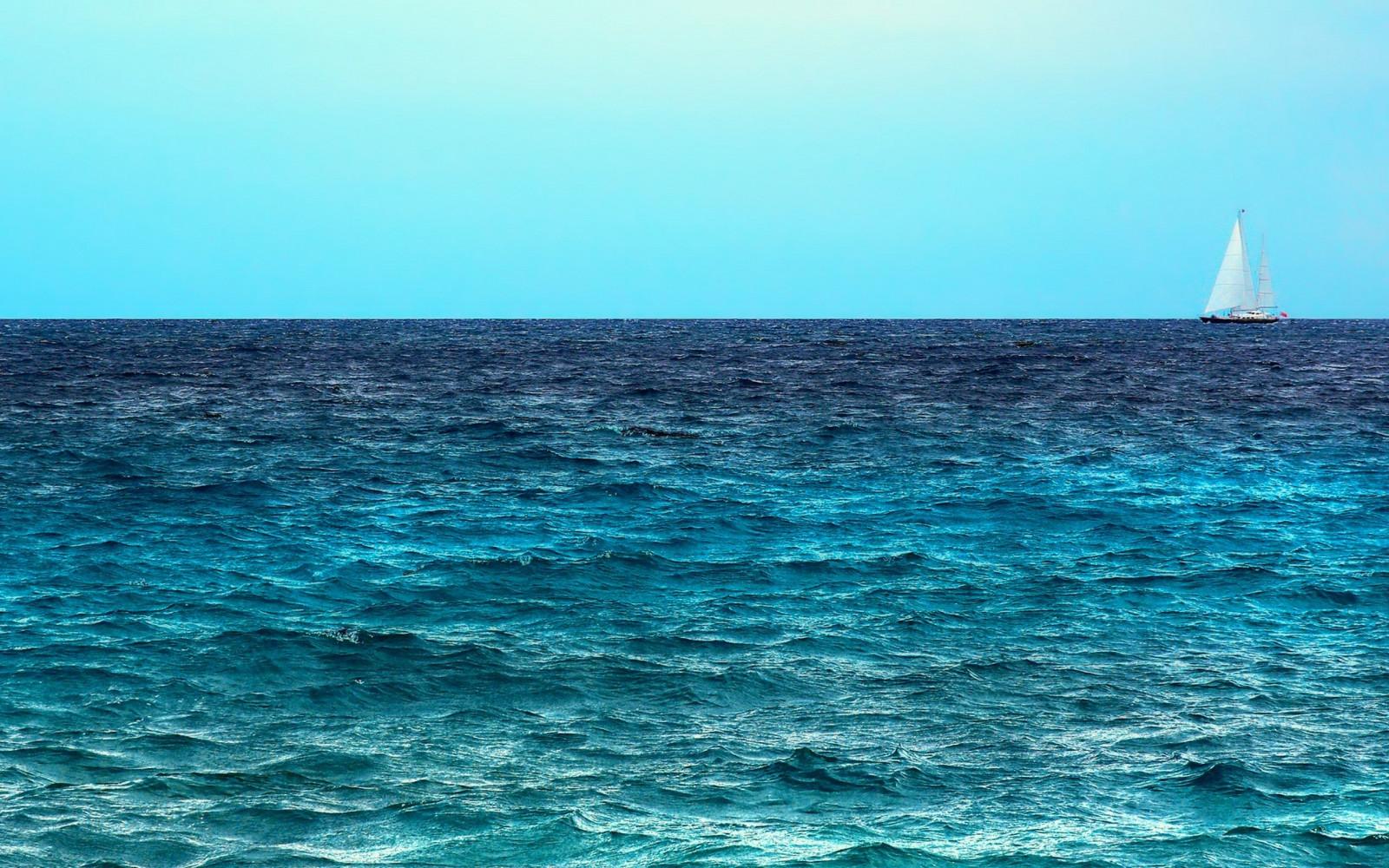 Надписью, картинки в синем цвете море