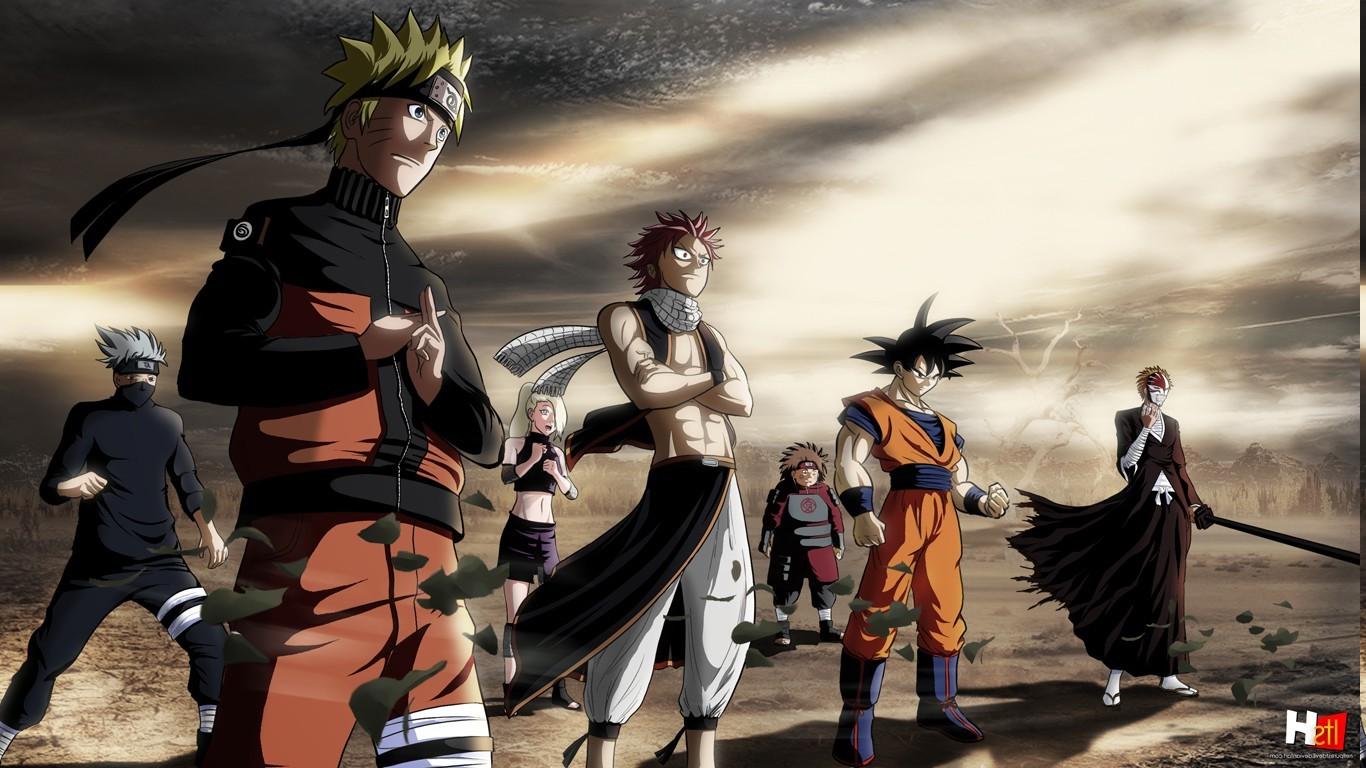 Dragon Ball Z And Naruto Crossover