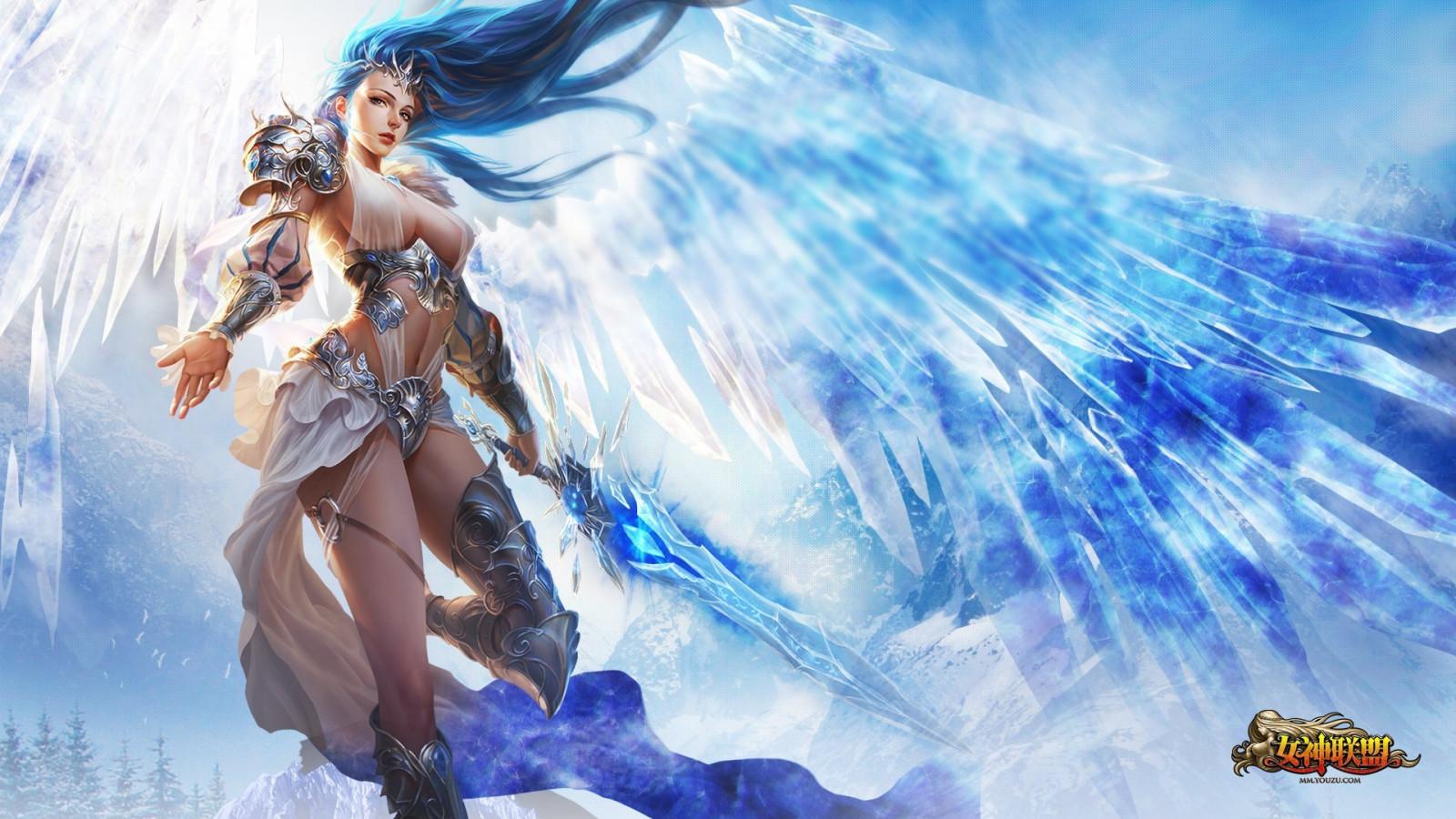 abbastanza Sfondi : illustrazione, donne, Fantasy art, Fantasy Girl, anime  AU45