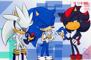 Wallpaper Illustration Anime Cartoon Sonic The Hedgehog Kissing Hugging Human Body Organ Mangaka 3465x1209 Bas123 61419 Hd Wallpapers Wallhere