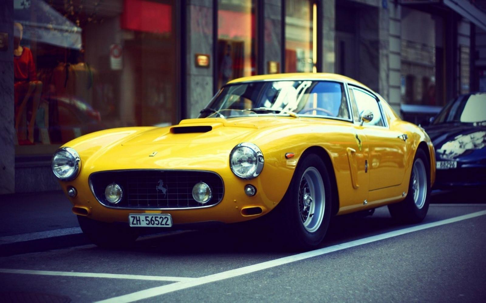 Wallpaper Vintage Sports Car Yellow Cars Classic Car Tvr Performance Car Ferrari 250 Gto Ferrari 250 Supercar Land Vehicle Automotive Design Race Car Automobile Make Antique Car Ferrari Spa 1920x1200
