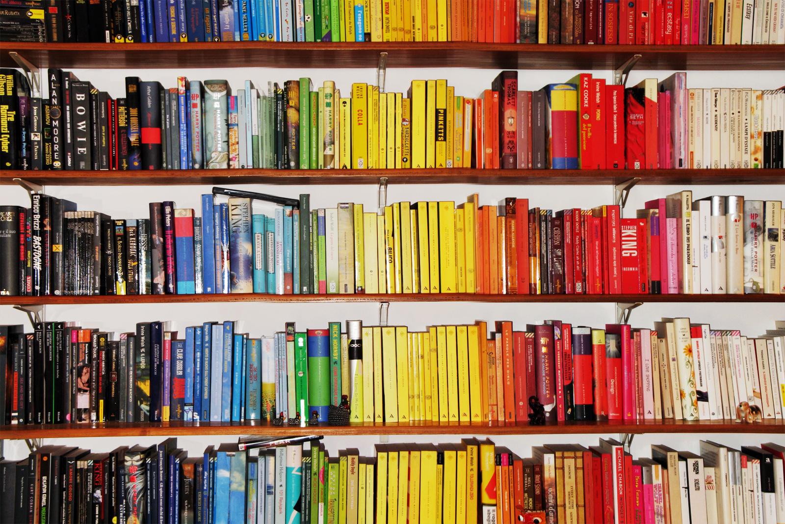 Fondos de pantalla : colores, arco iris, espectro, estante para ...