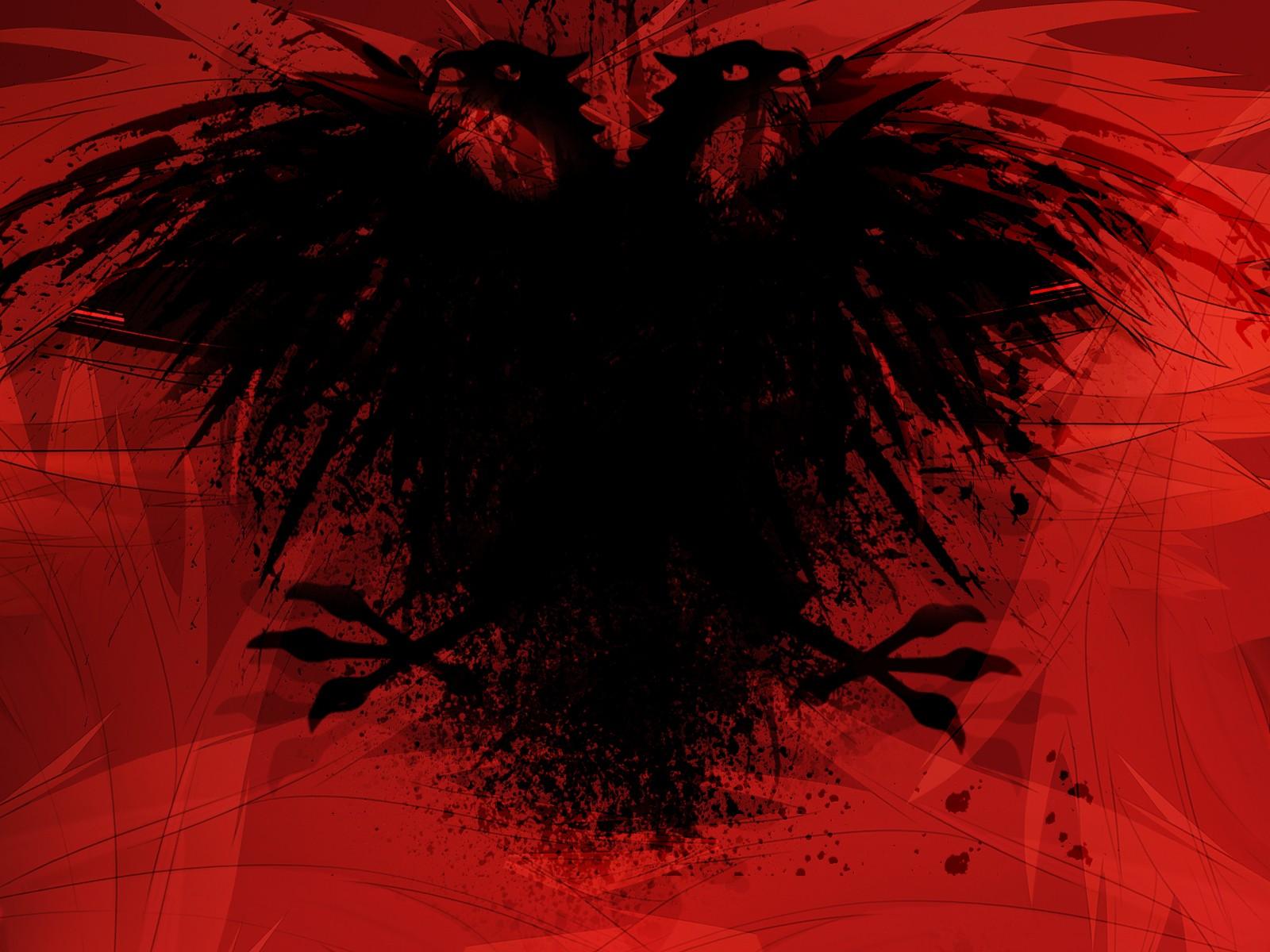 Sfondi Illustrazione Rosso Simmetria Bandiera Aquila Paesi