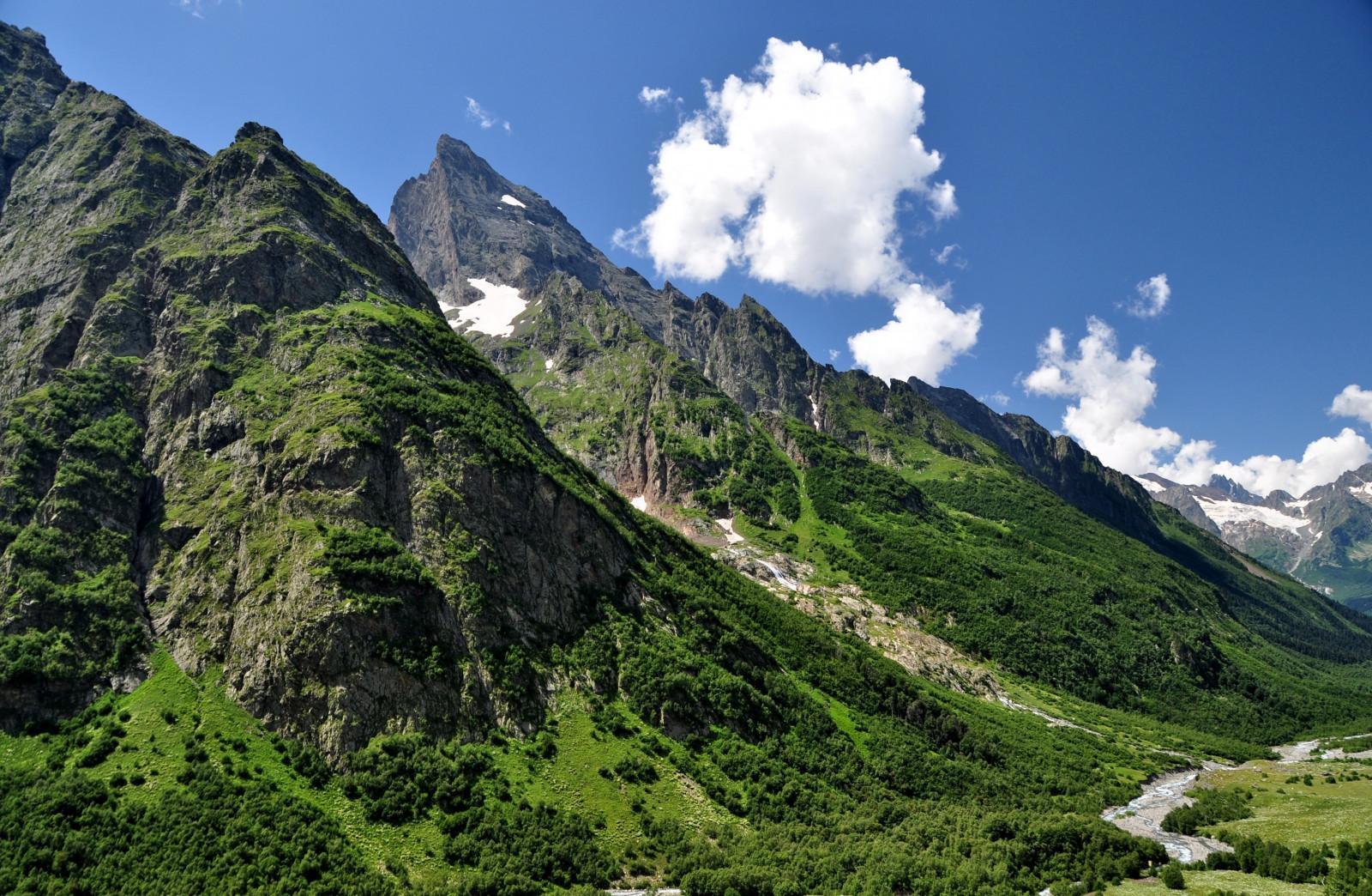 Картинки красивые кавказские горы, надписями