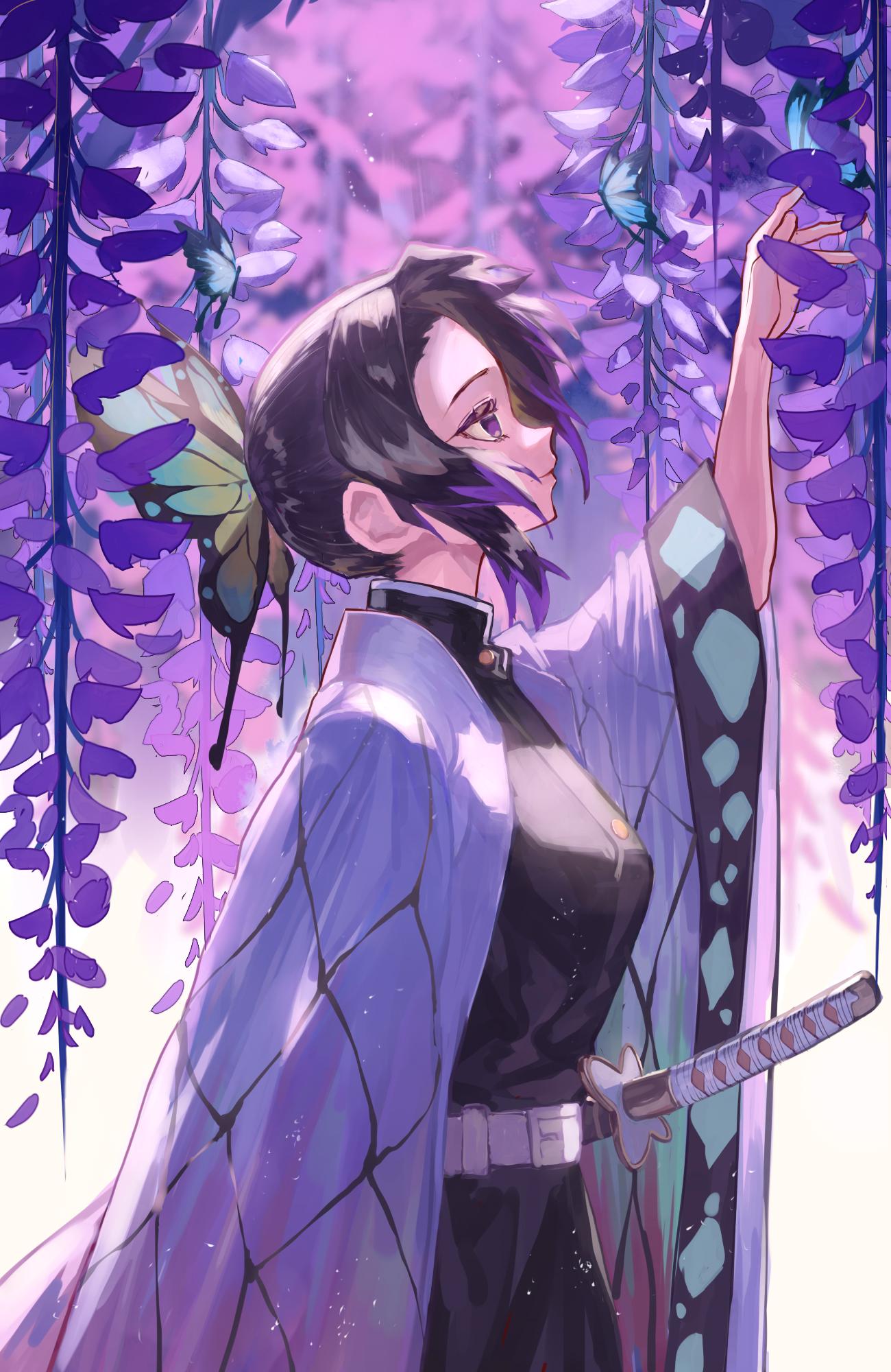 Wallpaper : anime girls, digital art, artwork, portrait ...