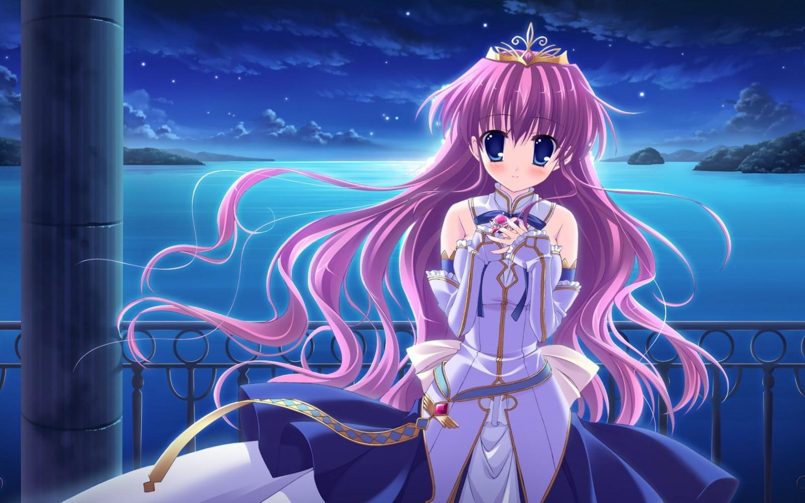Аниме девушки принцессы картинки