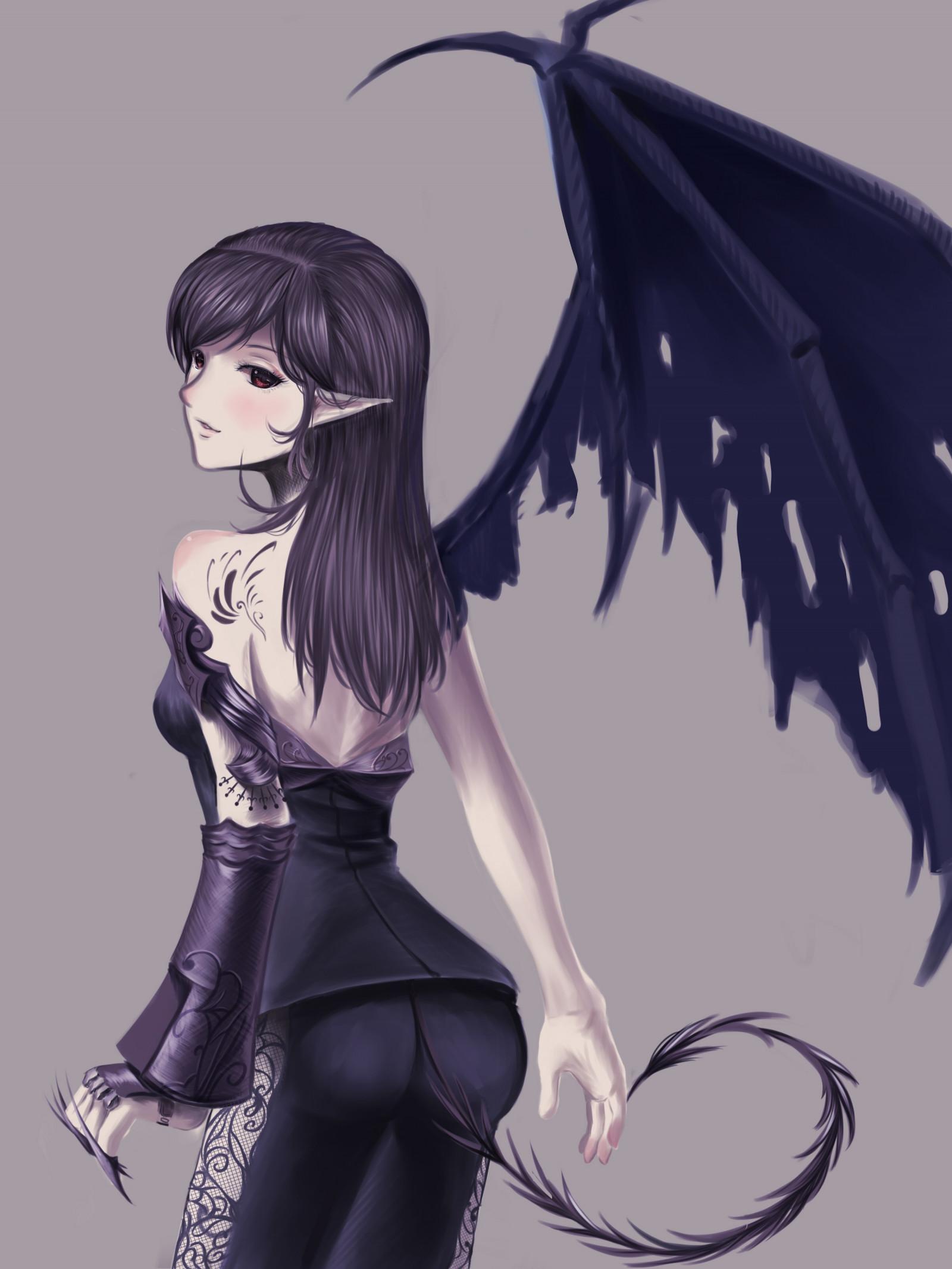 Fond D Ecran Illustration Cheveux Longs Anime Filles Anime
