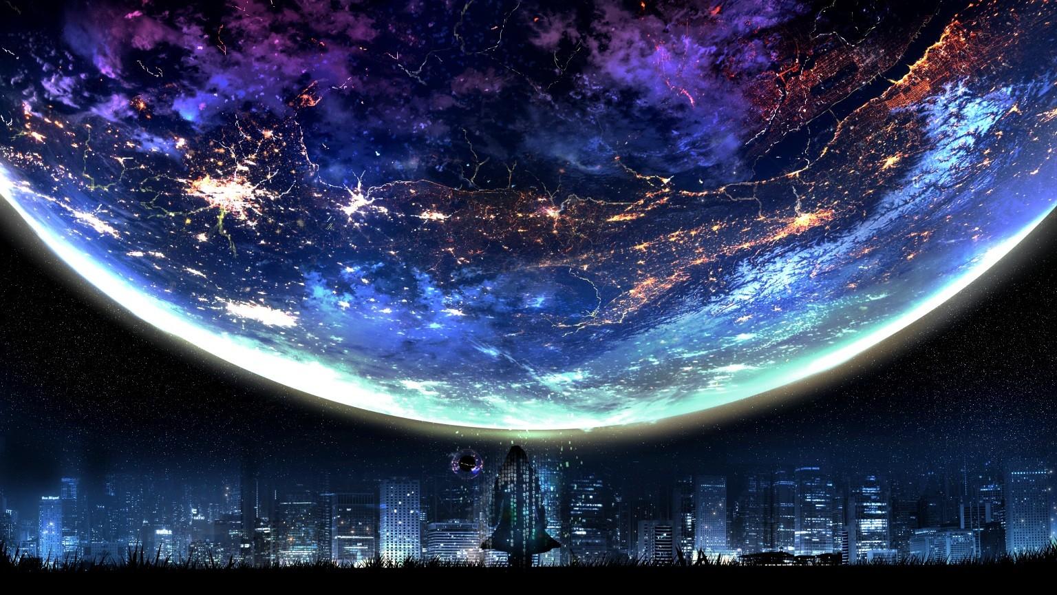 фантастика ночь картинки
