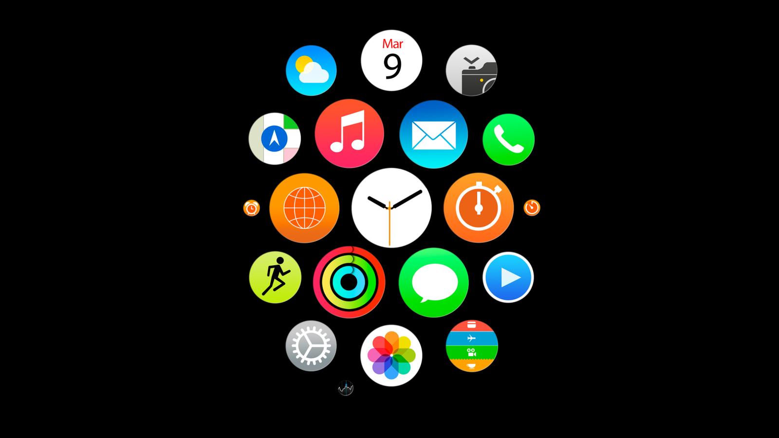 Wallpaper Illustration Logo Simple Technology Circle Brand