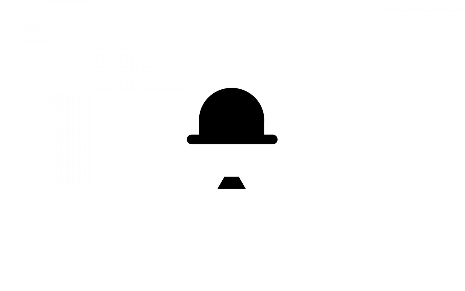 шляпа чарли чаплина картинка мелкие детали