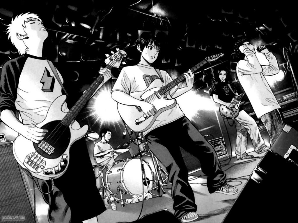 Wallpaper Anime Guitar Music Musician Drums Guitarist Beck