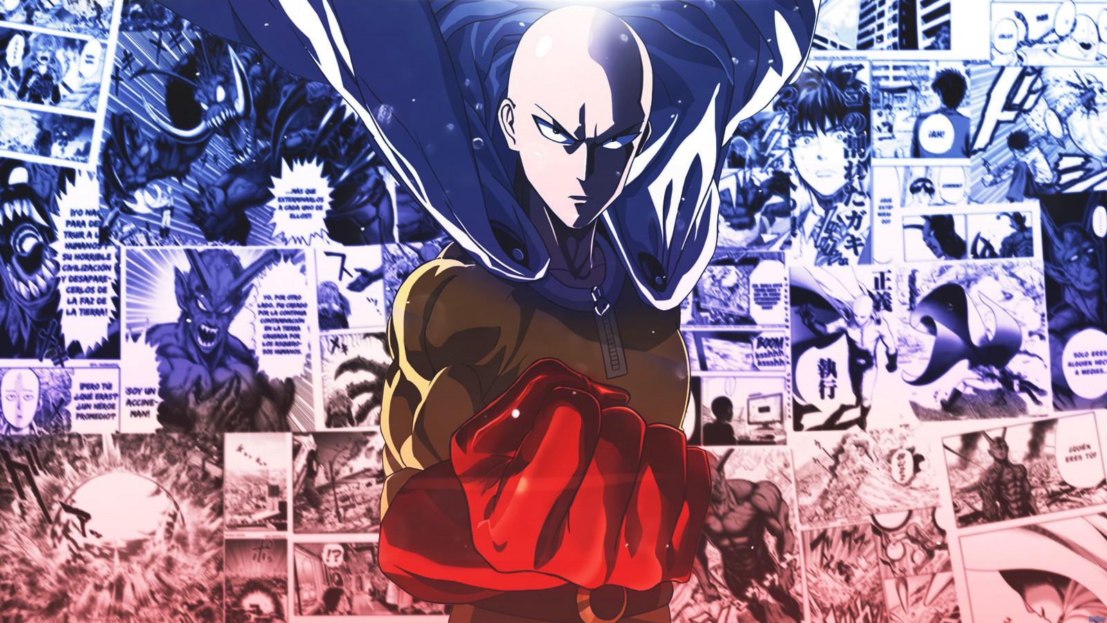 Saitama Wallpaper One Punch Man - Wallpaper : Saitama, One Punch Man, anime 3840x2160 ...