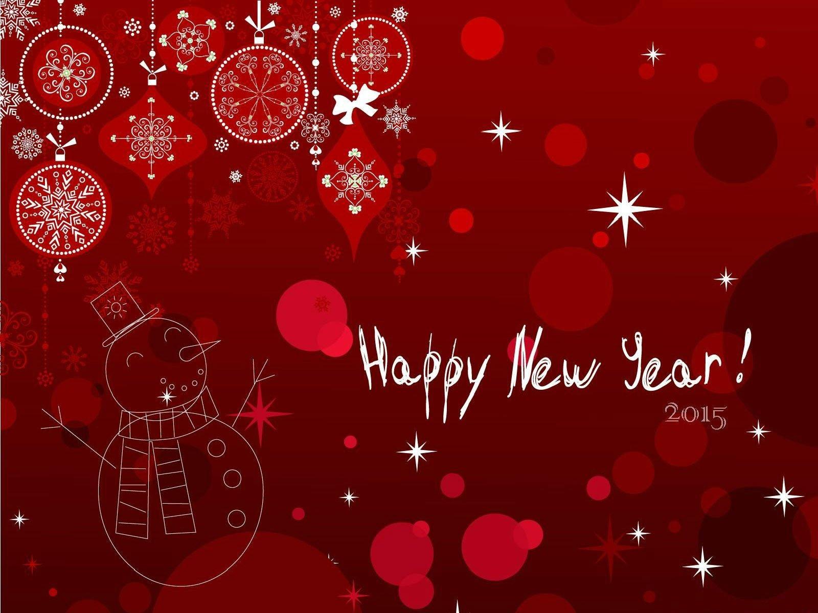 Новогодние открытки к 2015 году, днем рождения