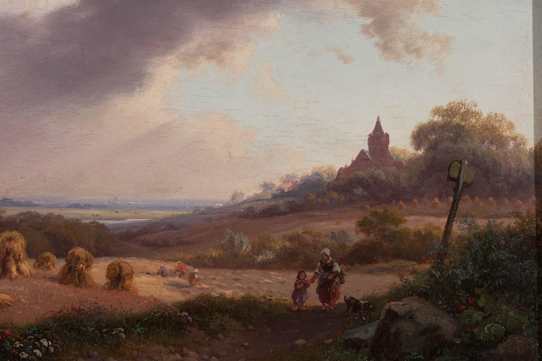 Hintergrundbilder : Landschaft, Malerei, Kinder, Rock, Wolken, Abend ...
