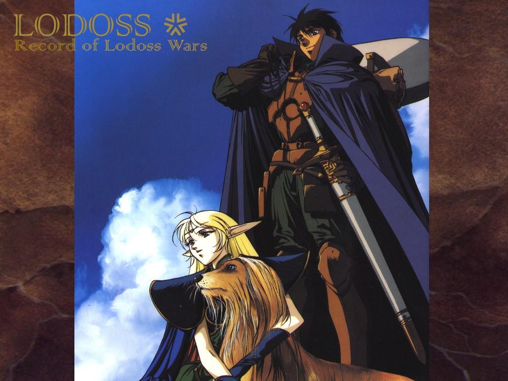 Wallpaper Anime Comics Record Of Lodoss War Mythology