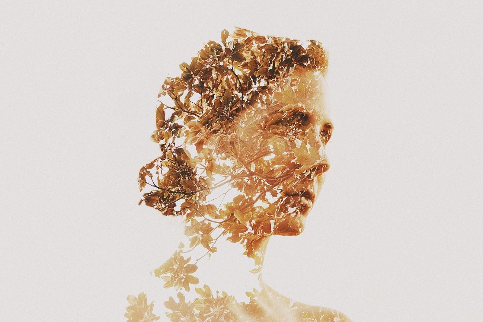88d8e562a62 Kvinder foto manipulation skulptur dobbelt eksponering guld tøj hoved KUNST  smykker 1600x1067 px mode tilbehør