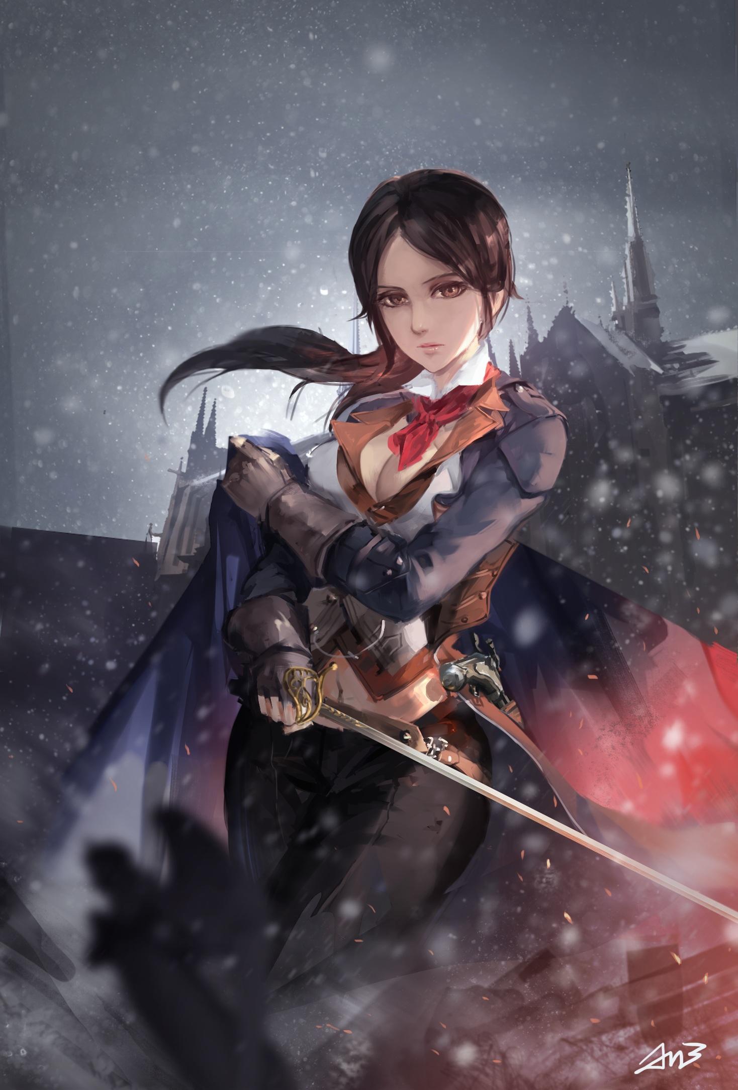 Wallpaper Digital Art Artwork Video Games Women Assassin S