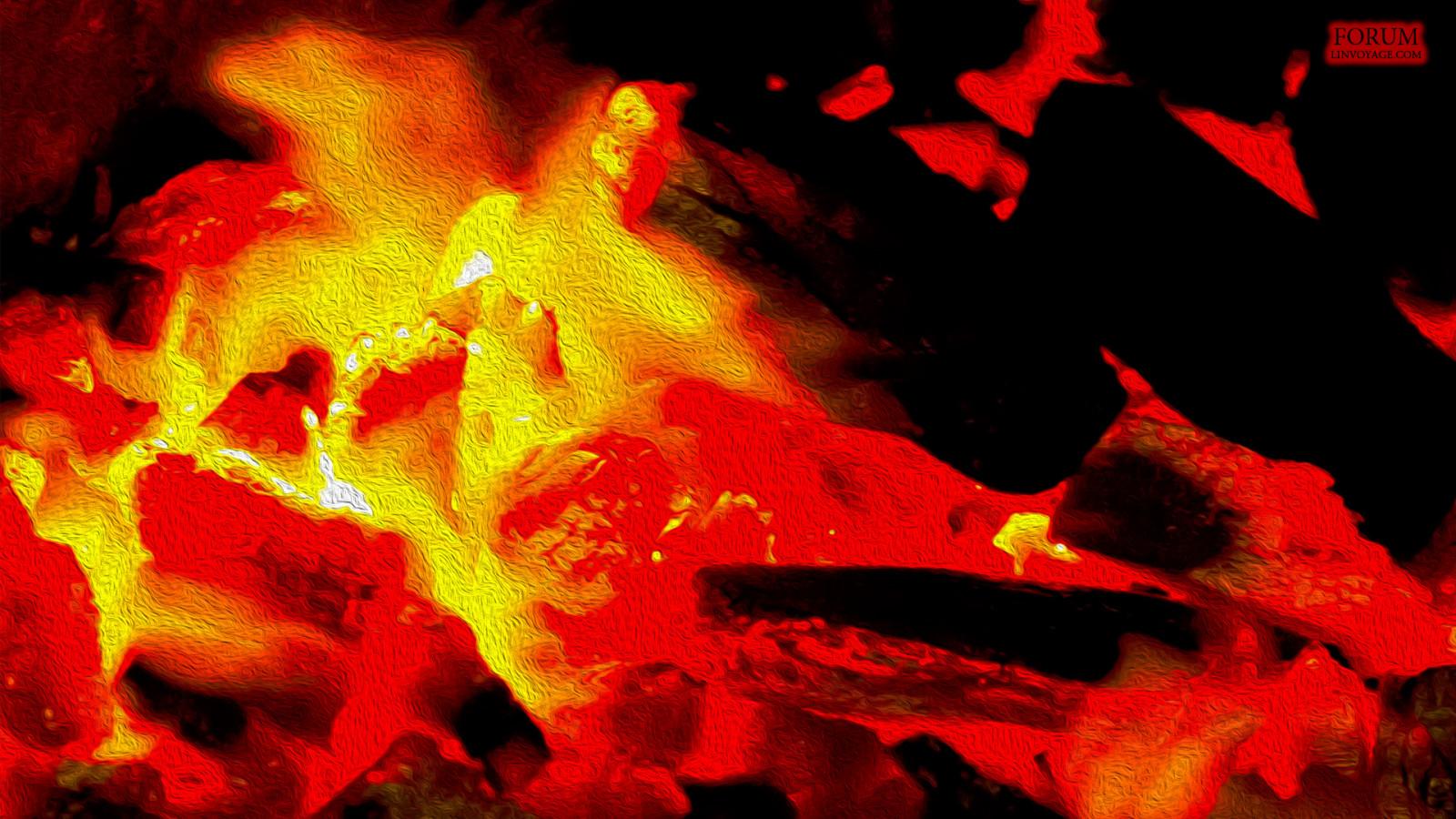 Fondo Fondos Abstractos Rojo Y Amarillo: Fondos De Pantalla : Oscuro, Abstracto, Rojo, Surrealista