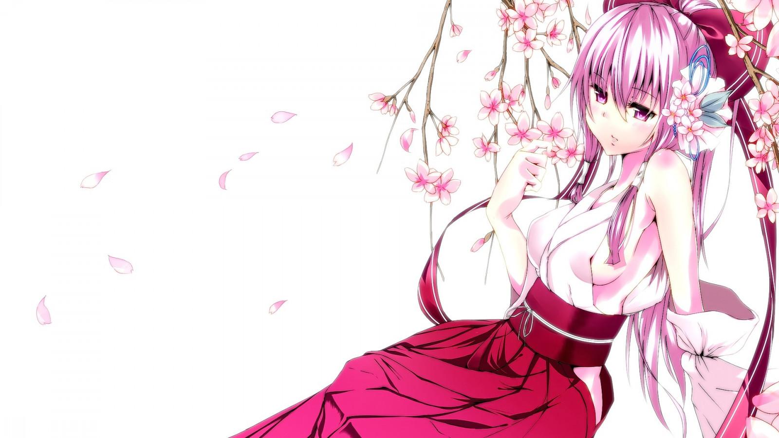Картинки на в вк вишневый аниме