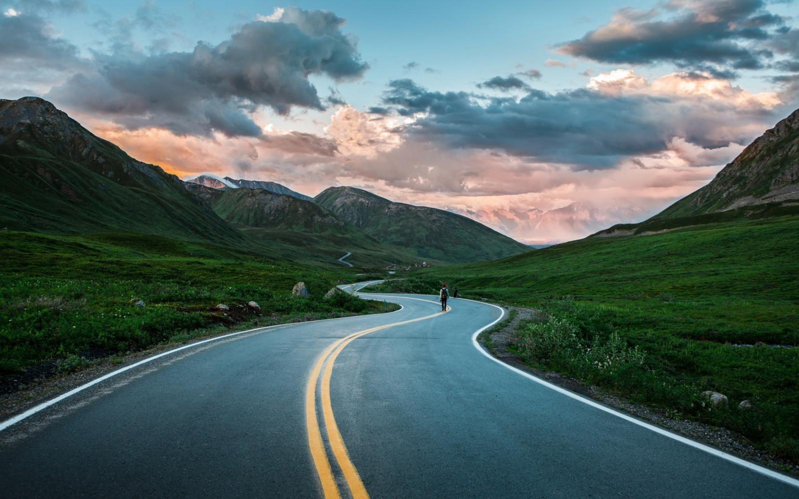 Картинки прекрасной дороги, днем