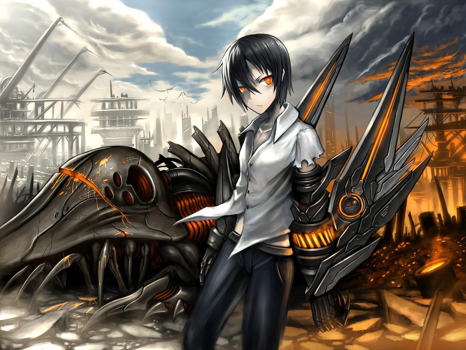 fond d'ecran anime 1600×1200