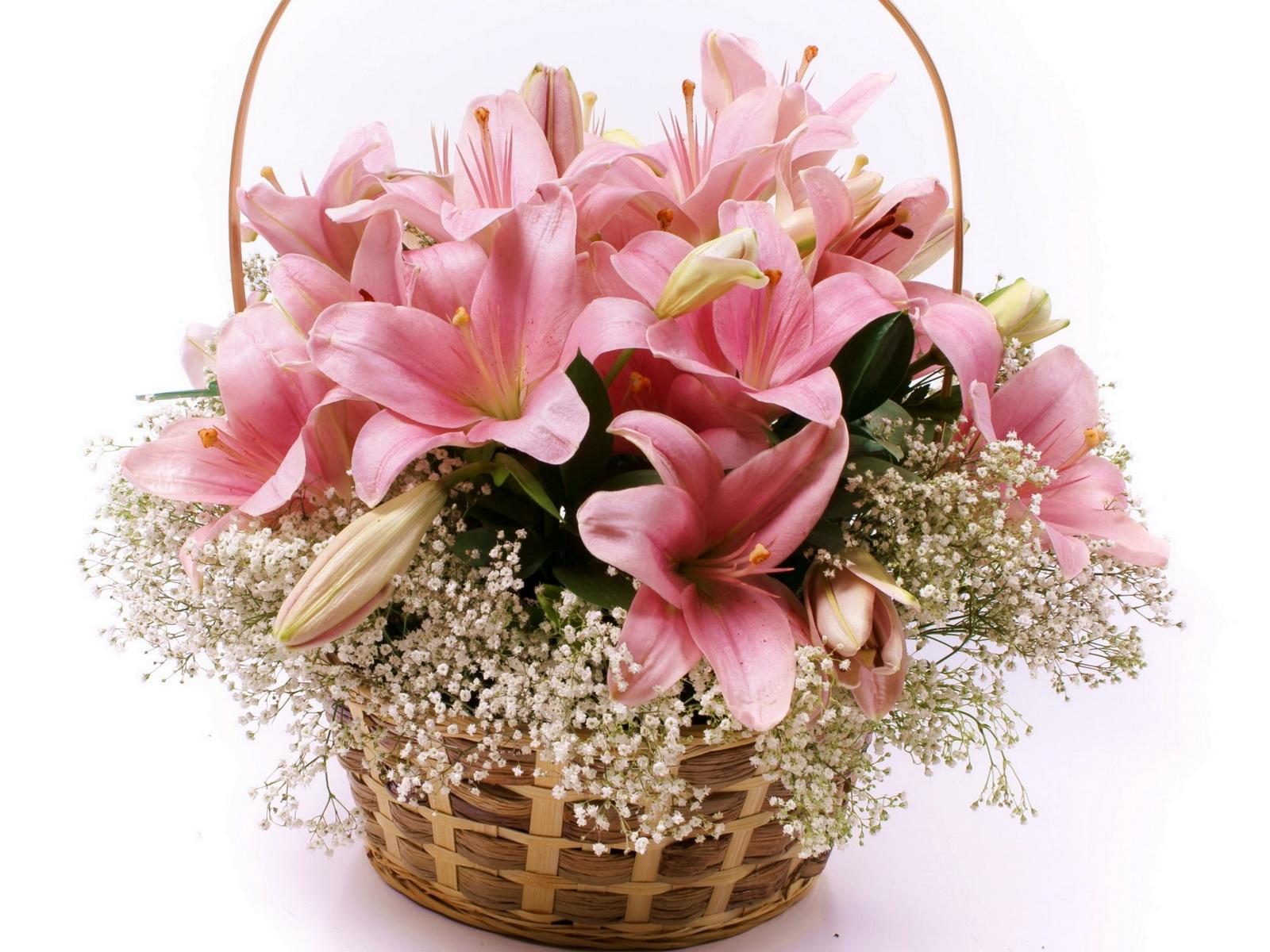 Цветы лилия открытка, фсб