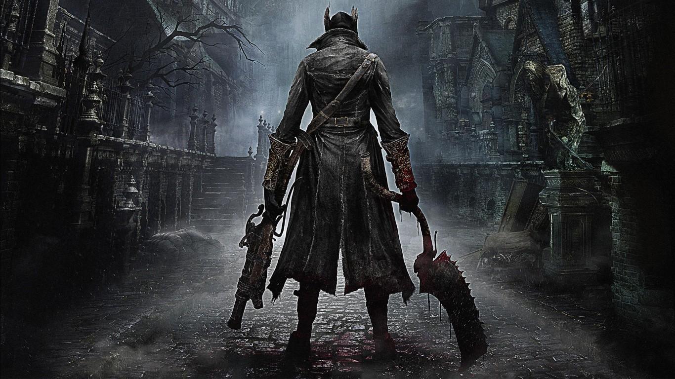 Wallpaper Video Games Bloodborne Darkness Screenshot