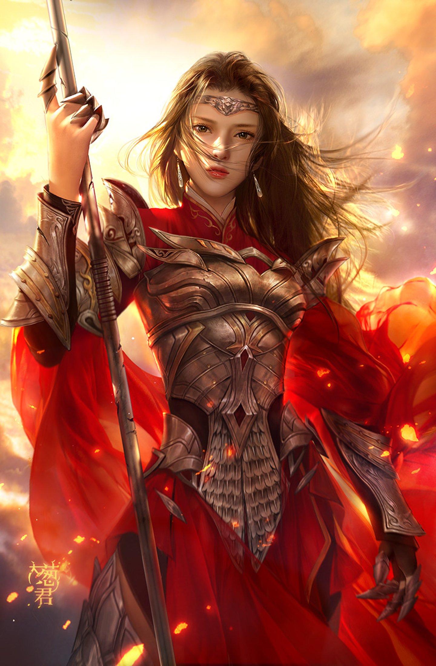 Fantasy Women Warrior Woman Wallpaper 197646 : Wallpapers13.com