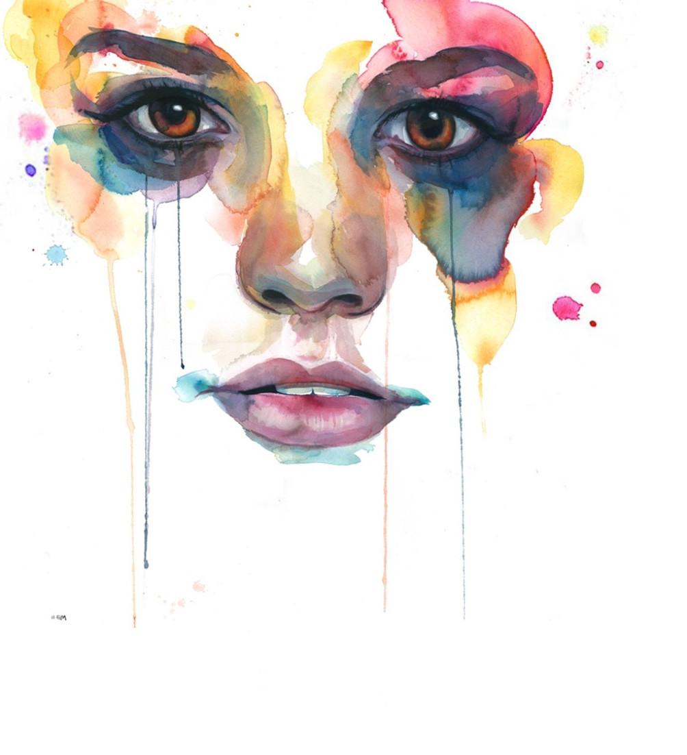 Wallpaper face painting portrait artwork nose head - Portrait anime wallpaper ...