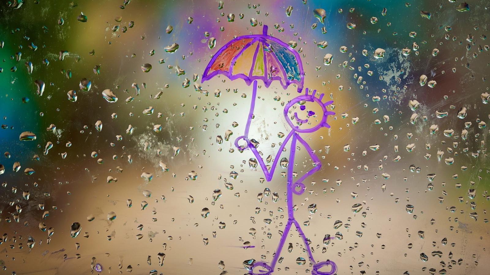 Картинки про дождь с надписью, картинки язь юбилей