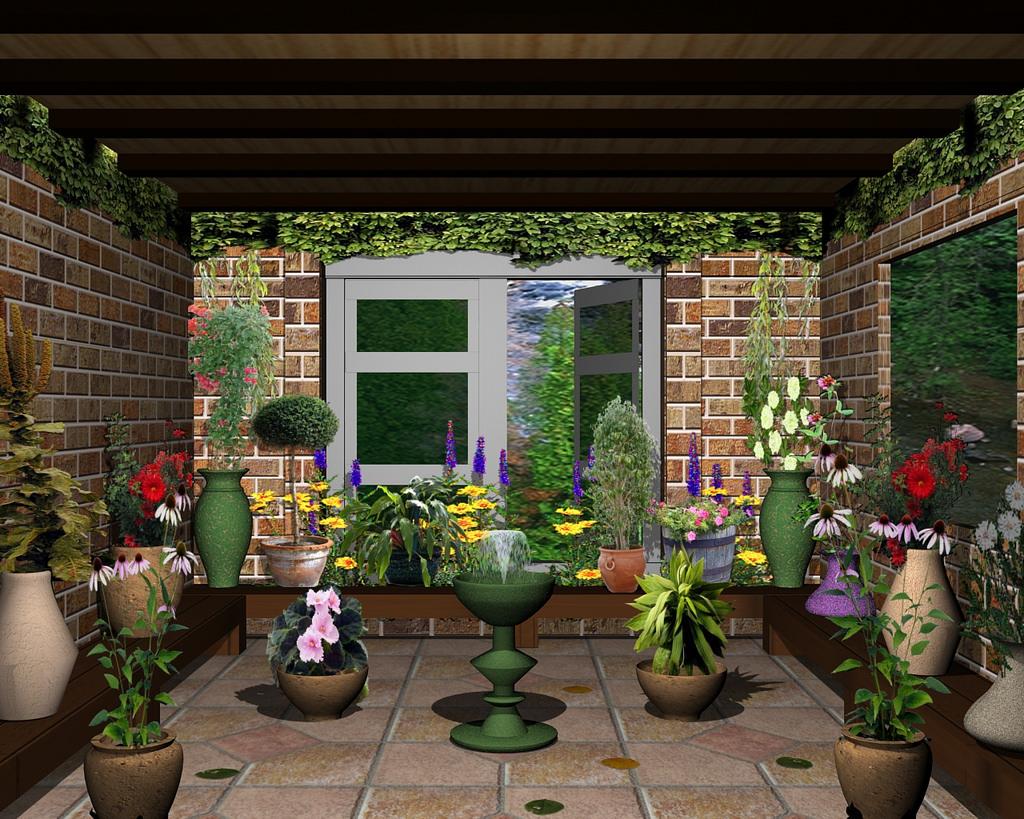 3d 4d 3dmax for 4d garden design