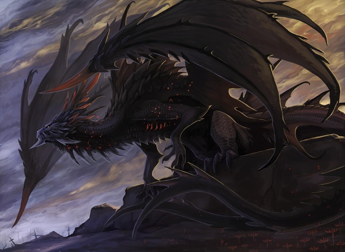демонические драконы картинки будет управлять