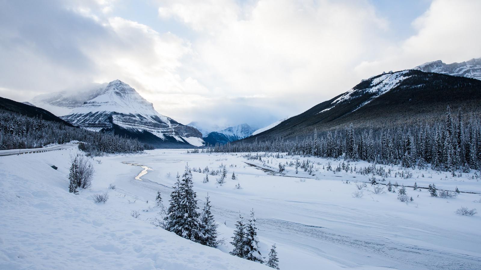 Fondo Escritorio Paisaje Nevada En Cumbre: Fondos De Pantalla : Paisaje, Montañas, Nieve, Puerto De