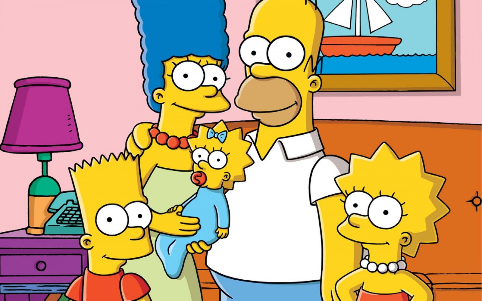 Fond d'écran : 1920 x 1200 px, Bart Simpson, Homer Simpson, Lisa Simpson, Marge Simpson, Les ...